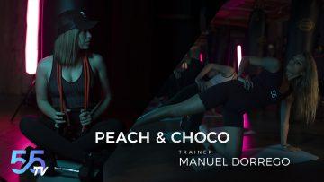Manuel Dorrego, peach & choco en Bz55 Fitness Concept